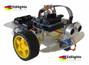 KIT ROBOT SMART CAR AUTO 2 RUOTE MOTRICI COMPATIBILE ARDUINO